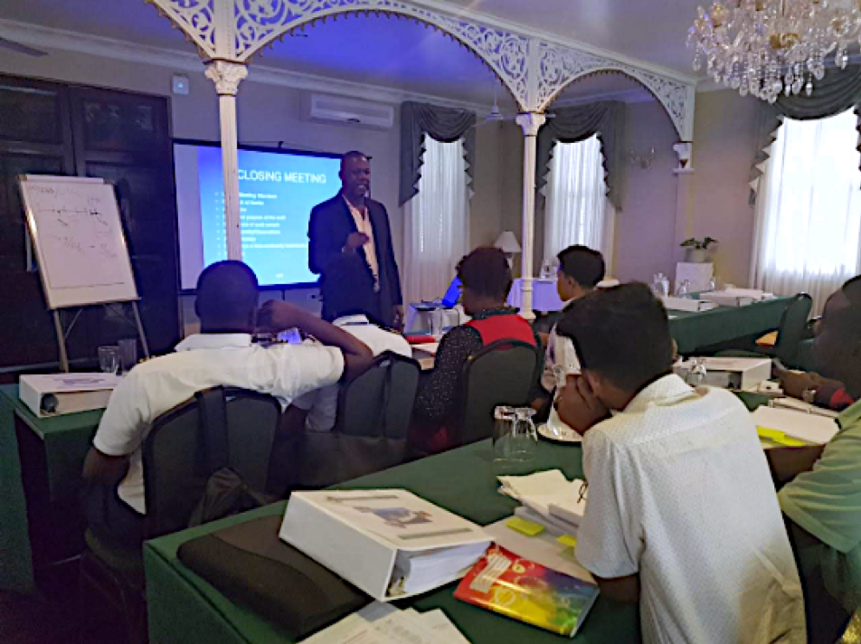 ISM and MLC Training in Guyana